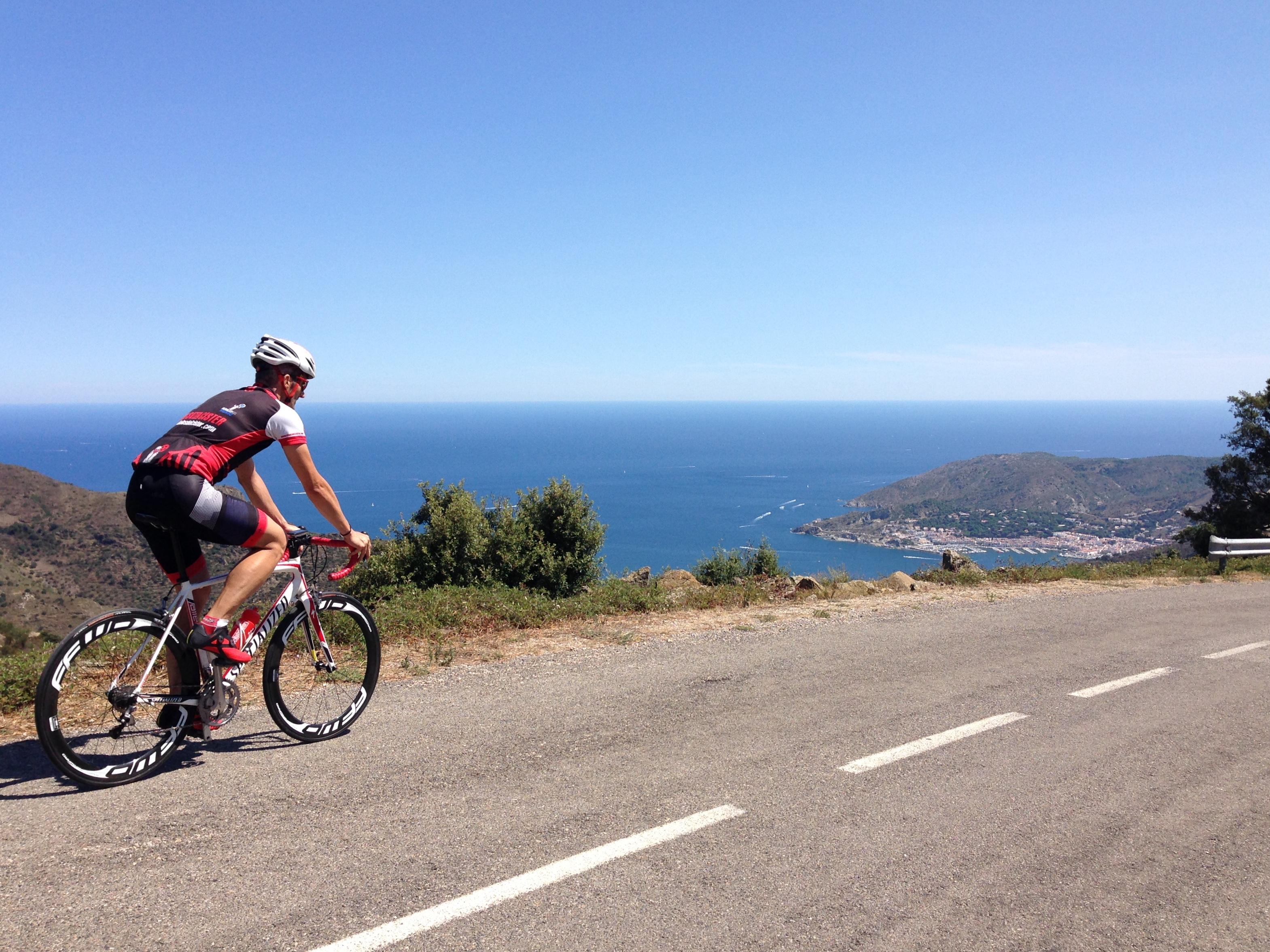 Oriol Palau bicicleta carretera Port de la Selva