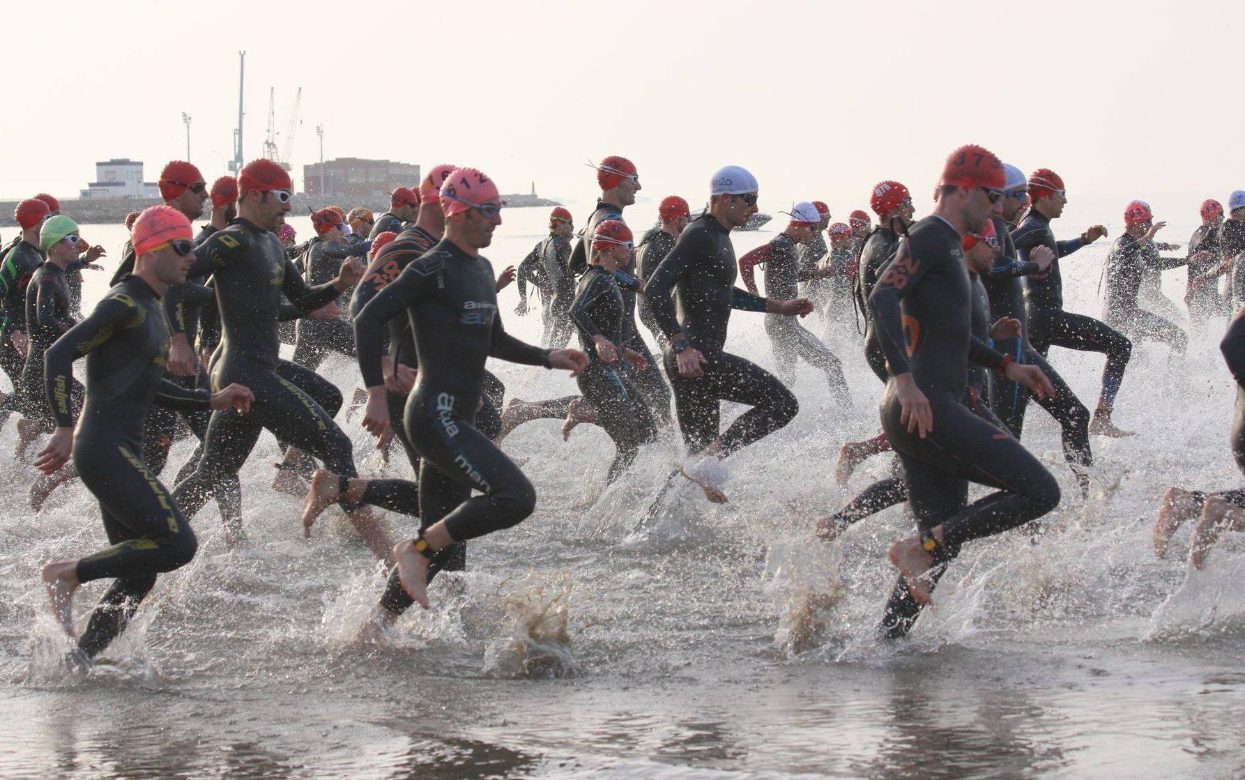Oriol Palau Ivet Farriols Triatló doble olímpic Terres de l'Ebre 2018
