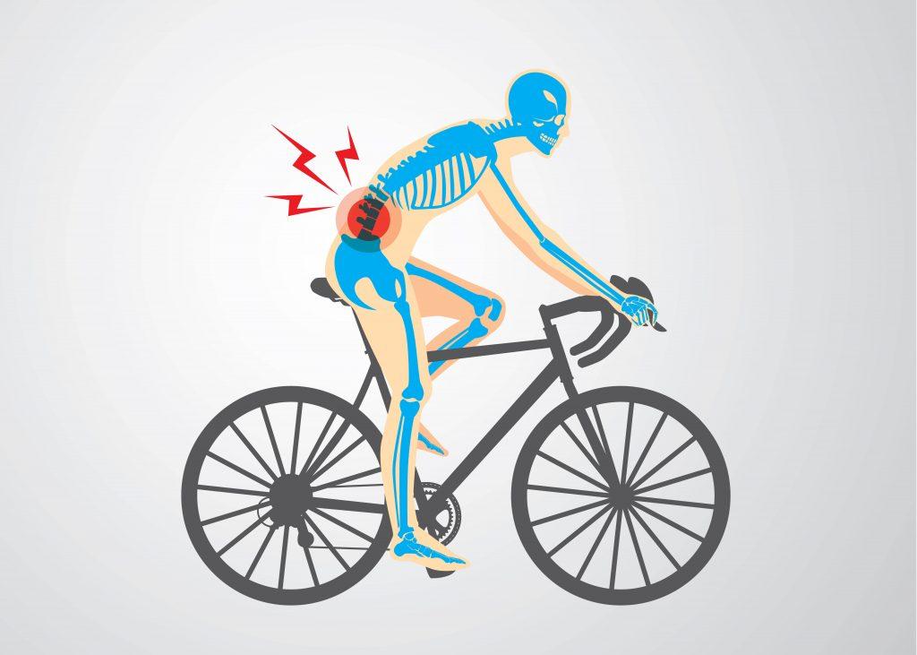 Dolor lumbar bicicleta