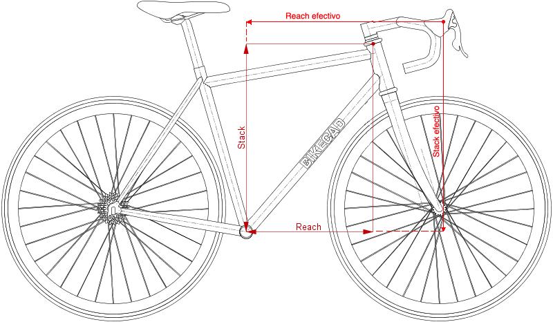 stack i reach quadre bicicleta